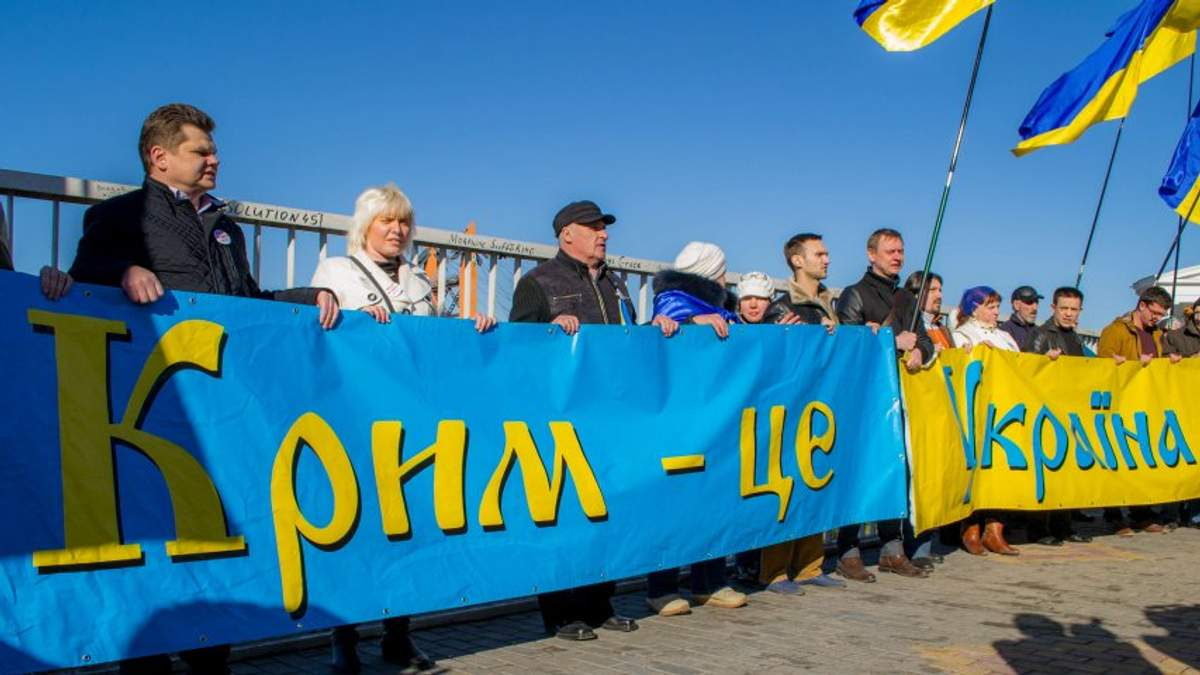Все варианты по Крыму, кроме его возврата, должны обсуждаться на Гаагском трибунале
