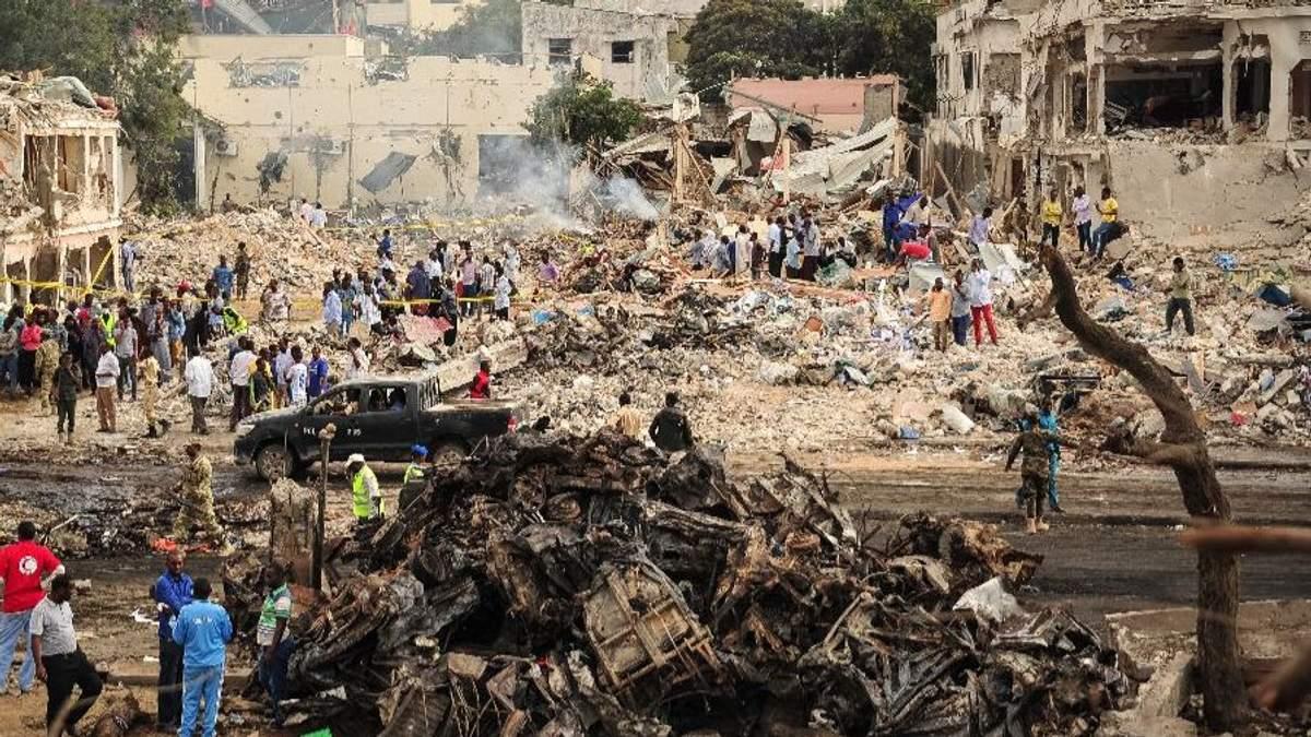 Трагедія у столиці Сомалі Могадішо