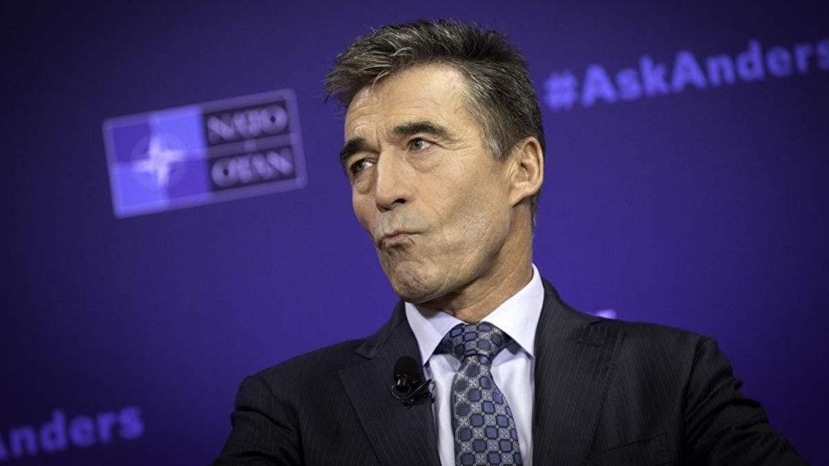 Московський проект резолюції виявився типовим путінським блефом, – екс-генсек НАТО