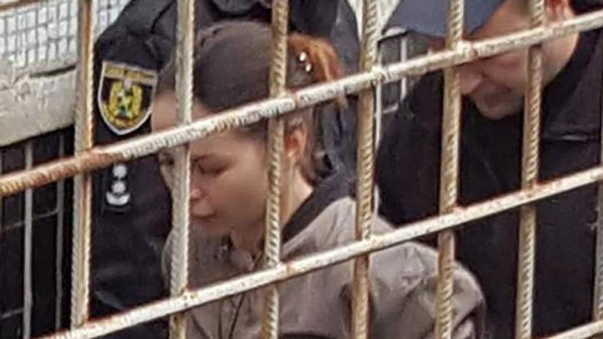 Суд над Аленой Зайцевой в Харькове