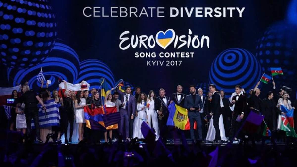 Евровидение-2017 происходило в Киеве