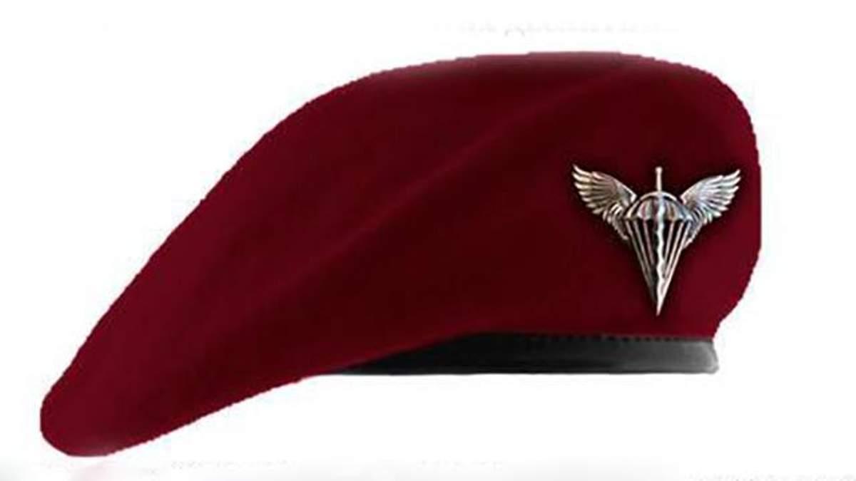 Берет цвета крови, пролитой в боях за  свободу Украины: в ВДВ представили новую униформу