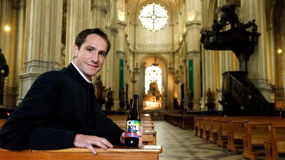 Церква Святої Катерини у Брюсселі варить власне пиво