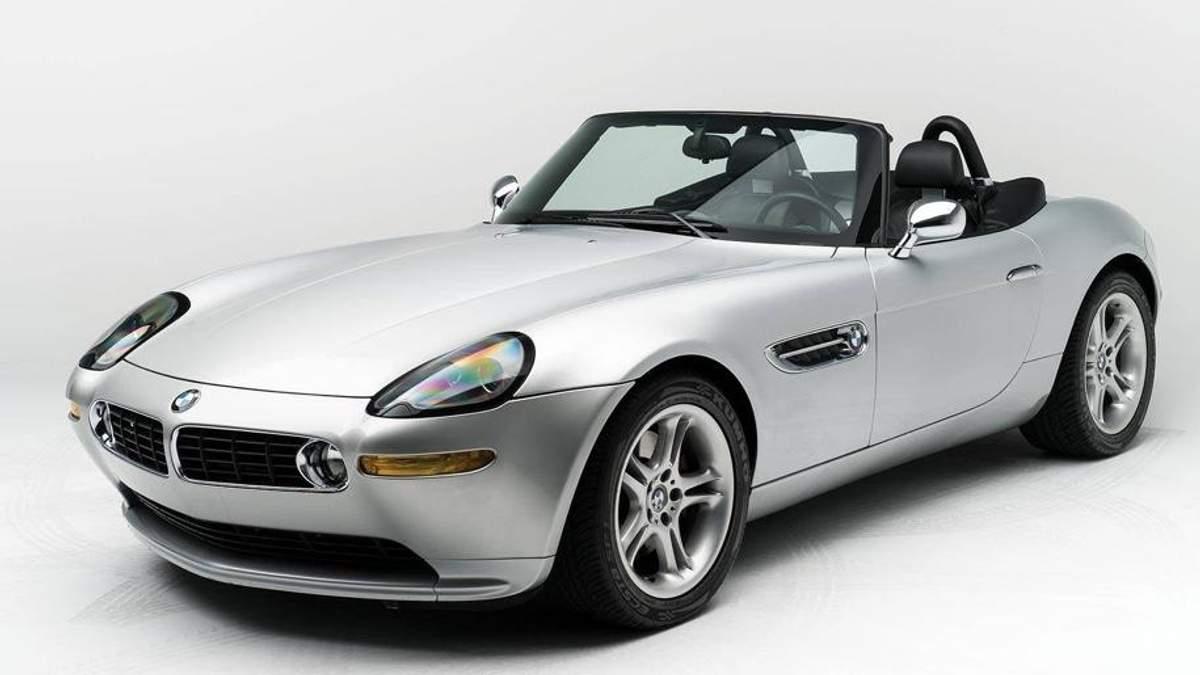 Автомобиль Стива Джобса BMW Z8 продают за огромную сумму