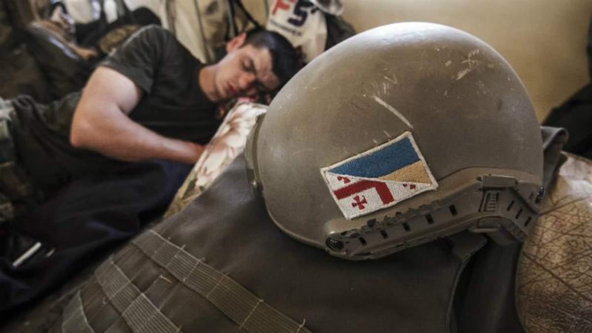 В войне на Донбассе погиб еще один грузин, который воевал на стороне Украины