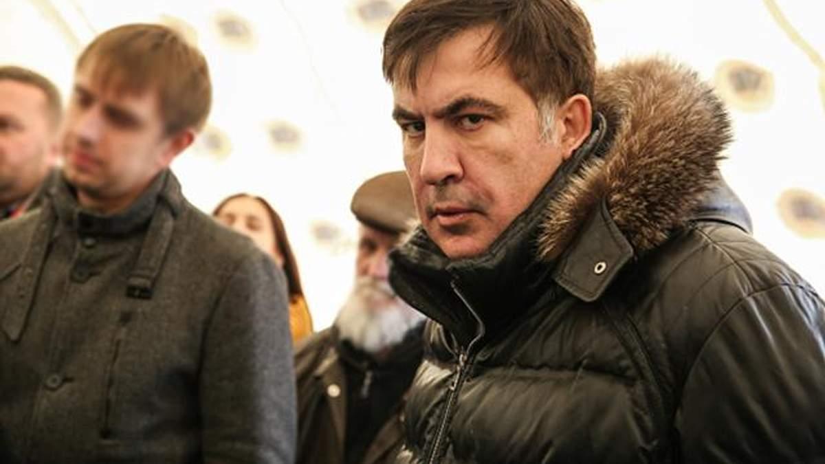 Саакашвили отказано в статусе беженца в Украине: опубликован документ