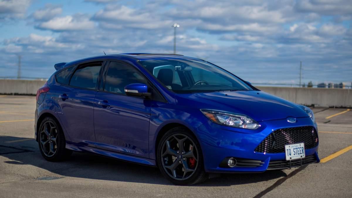 Тест-драйв сверхмощного Ford Focus ST