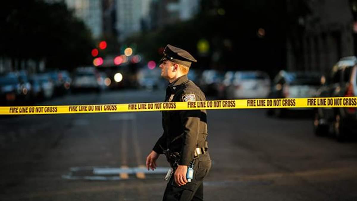Место теракта в Нью-Йорке
