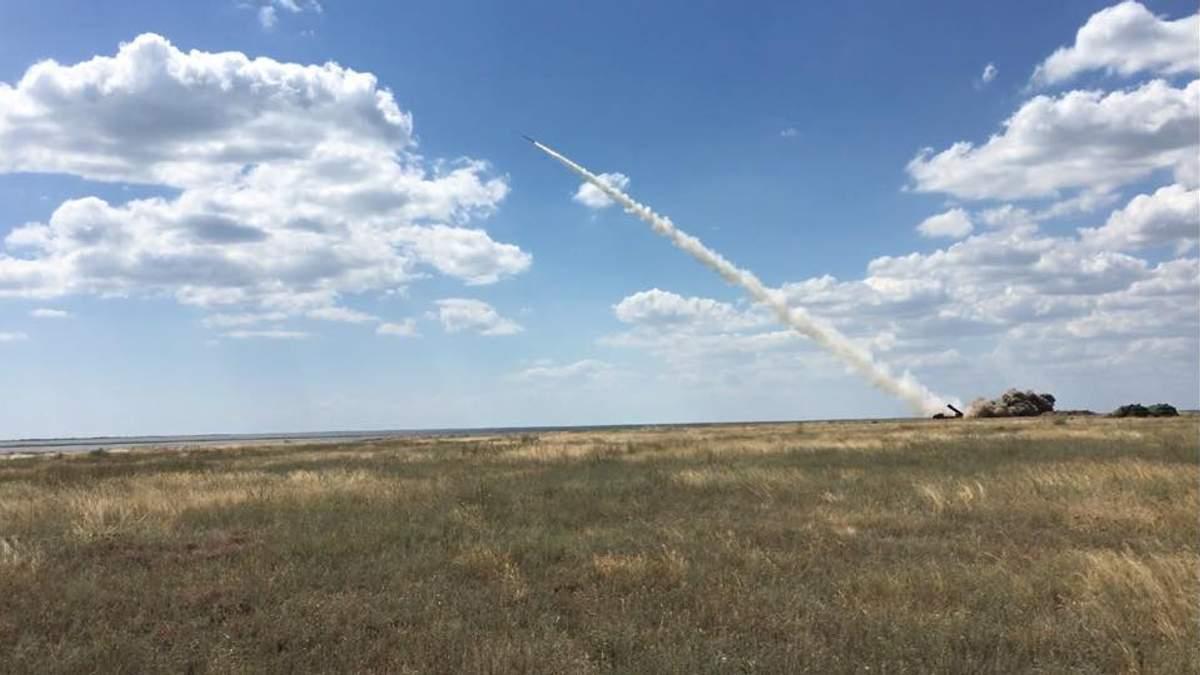 Військові провели випробування керованих зенітних ракет