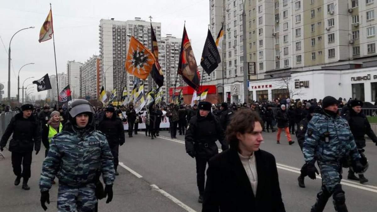 В Москве произошли столкновения между протестующими и полицией: фото