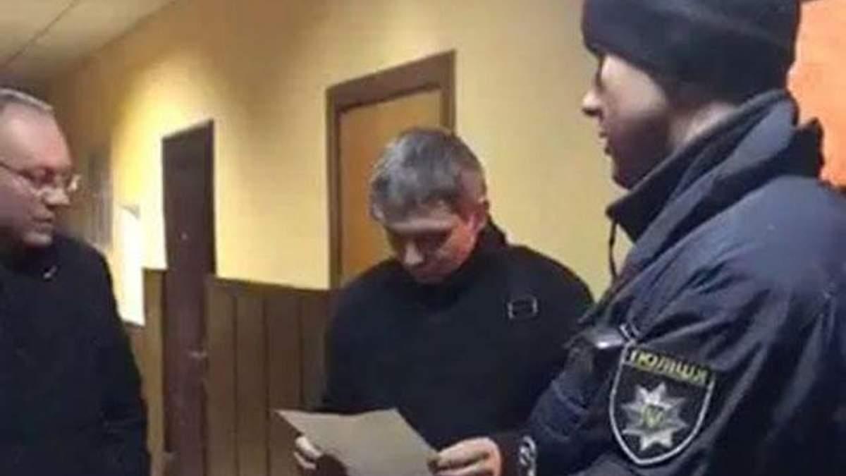 Патрульні Харкова затримали слідчого поліції, який веде резонансну справу Олени Зайцевої