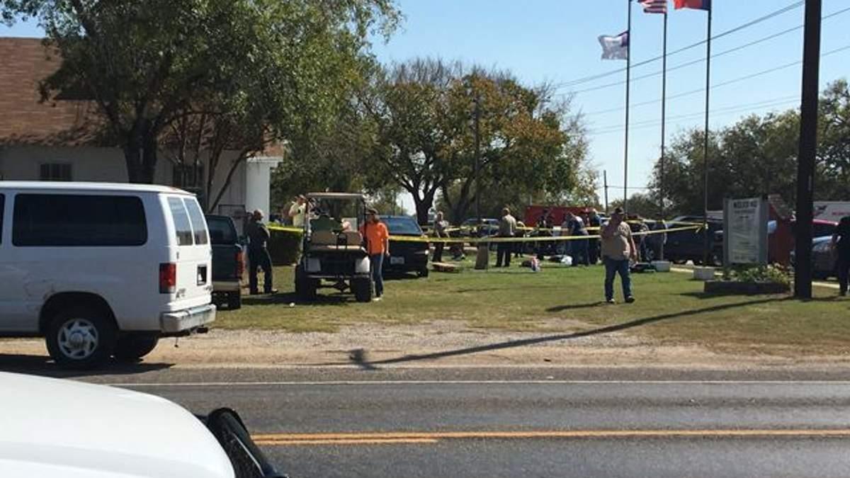 Мужчина совершил массовый расстрел людей в церкви в Техасе: минимум 27 человек погибли