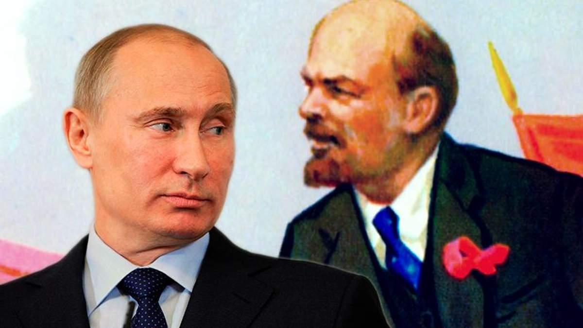 Почему Путин умалчивает годовщину большевистского переворота?