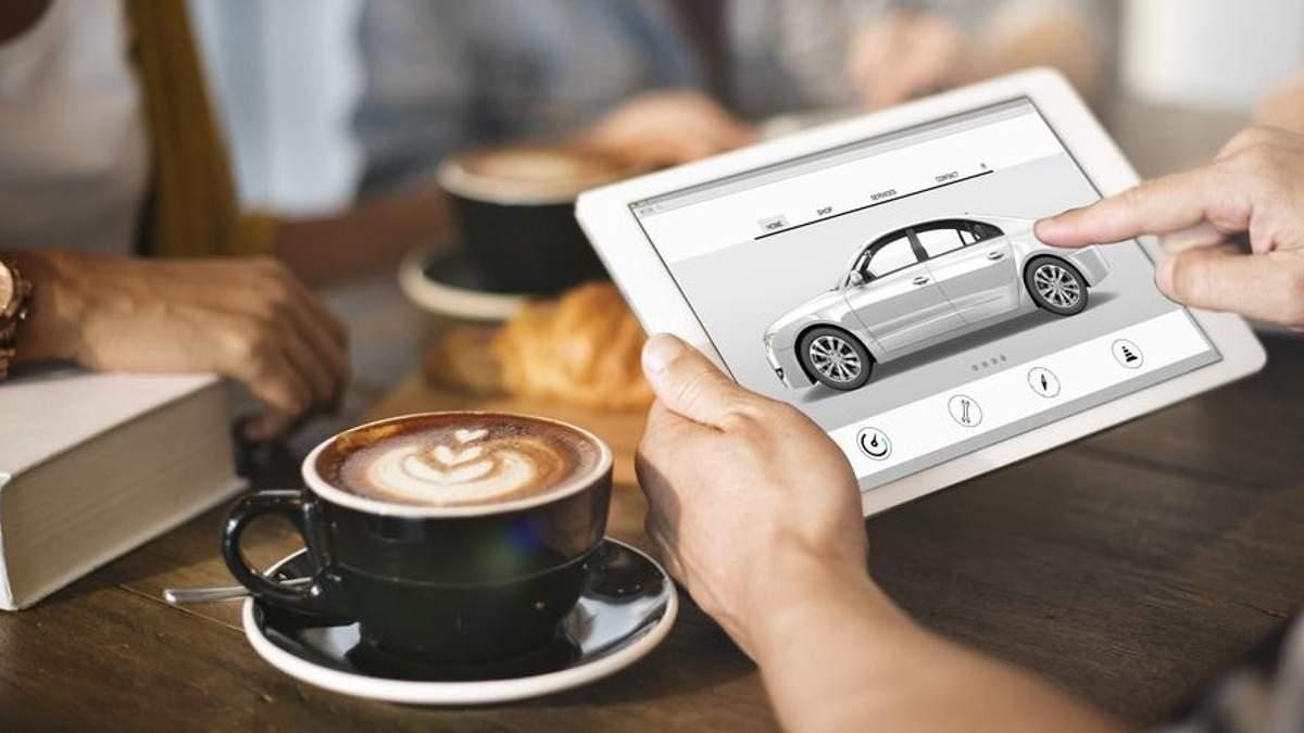 Продажі автомобілів онлайн в Британії стрімко зростають в 2017 році