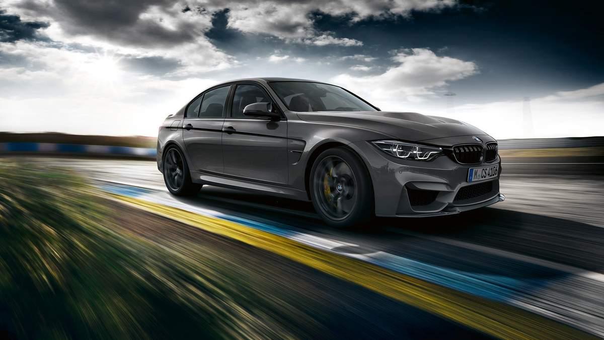 BMW M3 CS - нова модель BMW
