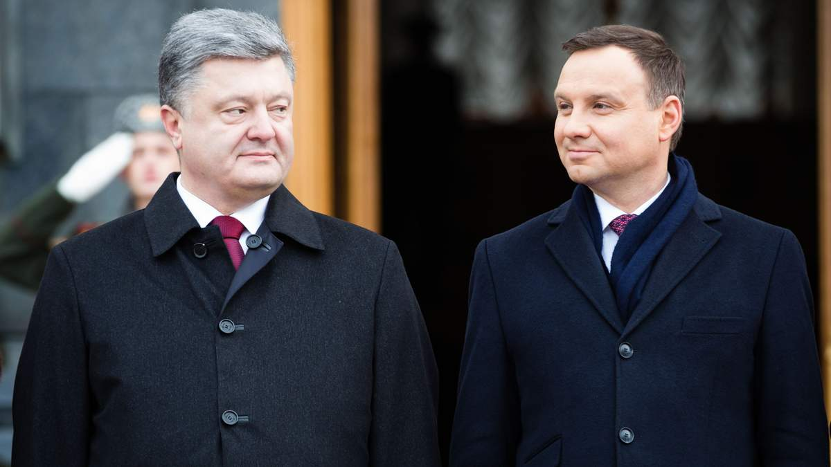 У Порошенка відповіли президенту Польщі на його заяву щодо українців