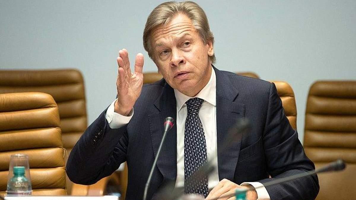Россия должна ограничить аккредитацию для украинских СМИ, заявил Пушков