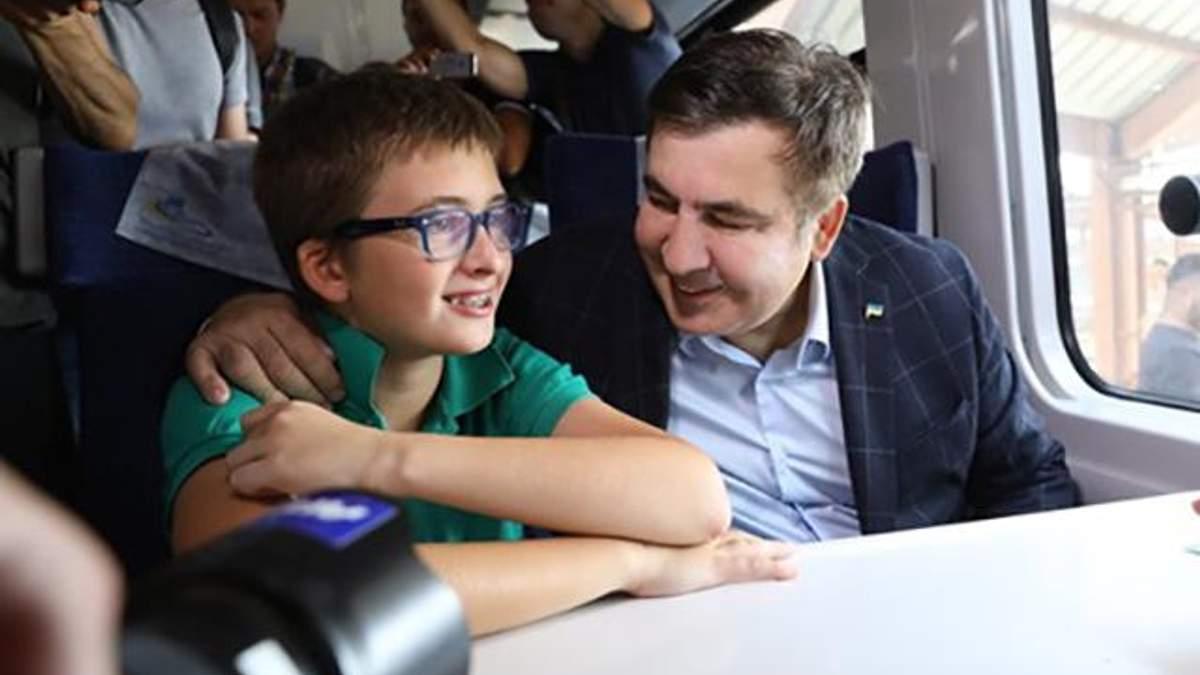 """Сына Саакашвили задержали в аэропорту """"Борисполь"""""""
