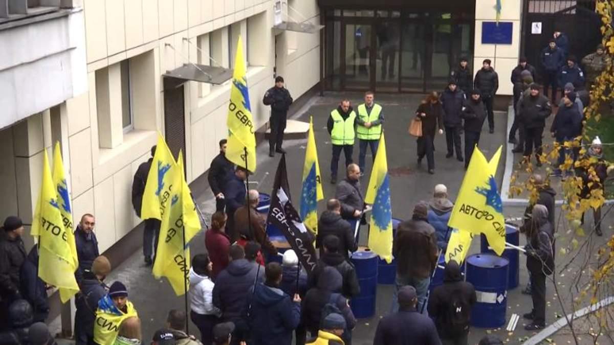 """Война с """"евробляхами"""": в Украине начали штрафовать за иностранные номера"""