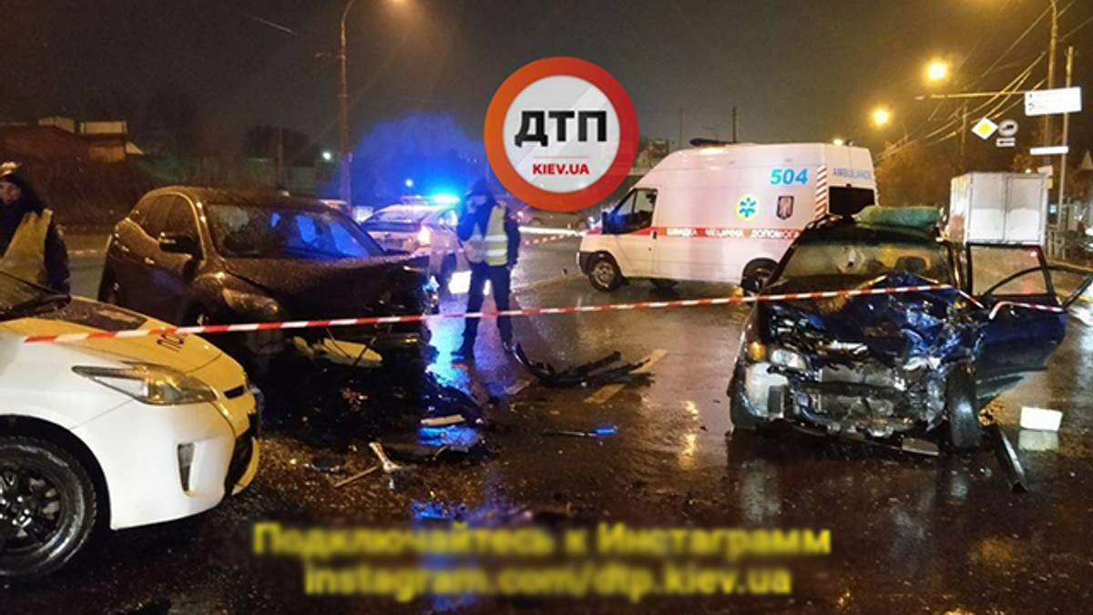 В Киеве произошла смертельная авария с участием авто начальника сервисного центра МВД