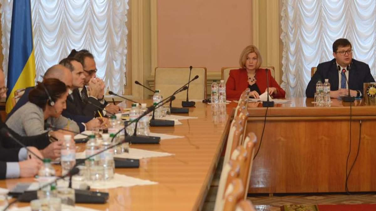 На Донбассе возросло количество украинских заложников, – Геращенко