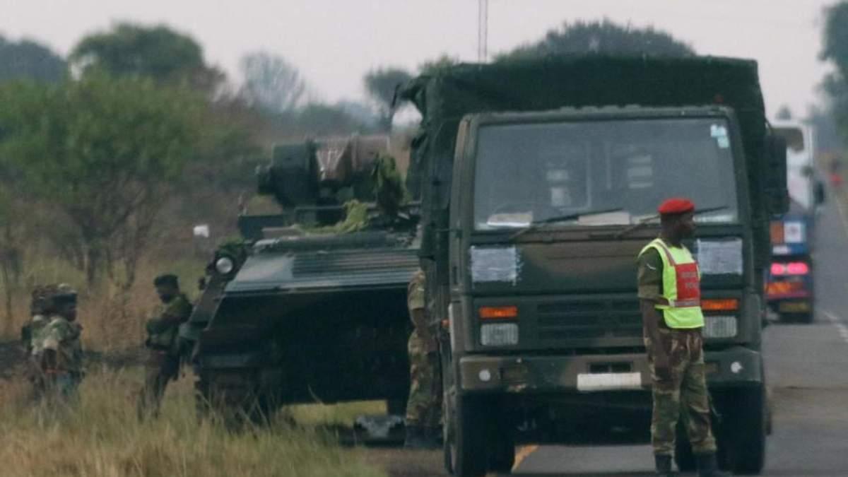Неспокій у Африці: армія Зімбабве захопила державну телерадіокомпанію