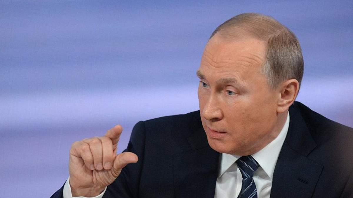 Президент РФ показал, кто руководит боевиками