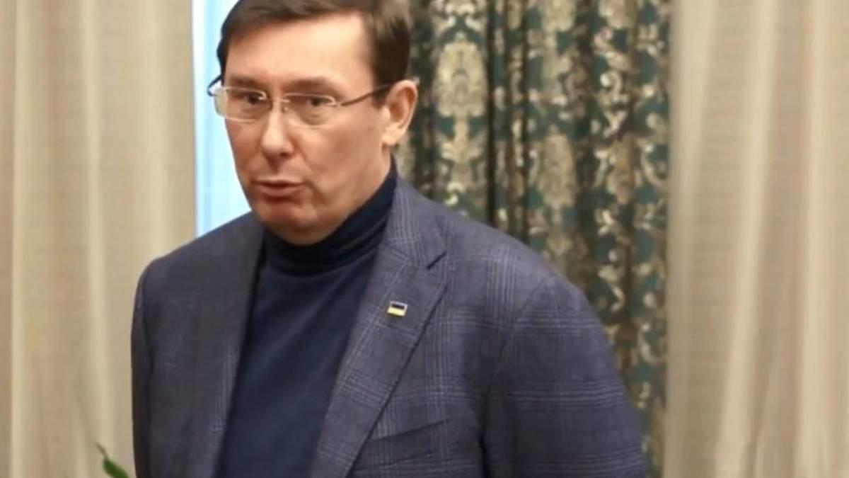 Луценко прокоментував кримінальне провадження НАБУ проти нього через свого сина