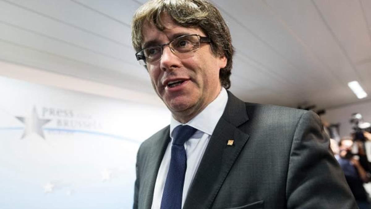 Суд у Бельгії поки не знає, що робити з каталонським лідером-втікачем Пучдемоном