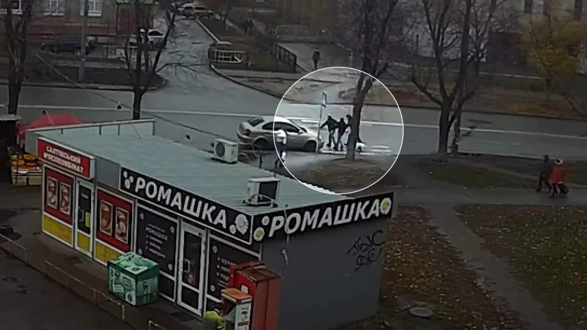 Это было задержание – в Нацполиции прокомментировали возможное похищение женщины в Киеве
