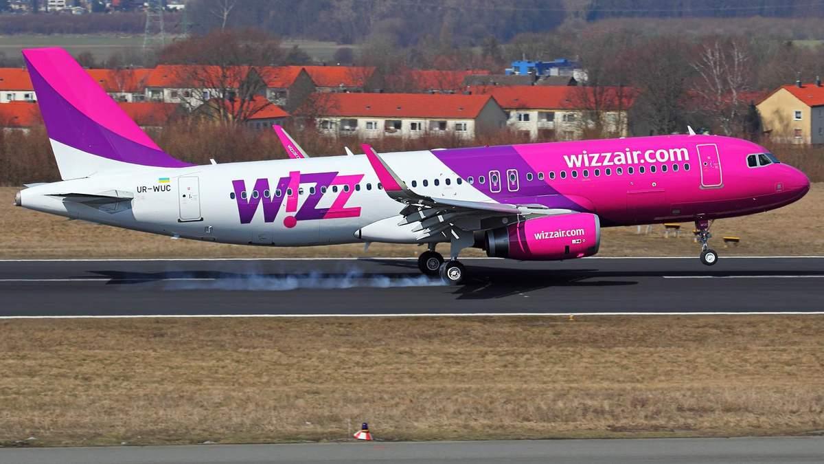 Wizz Air відкриває новий напрямок зі Львова до європейського міста