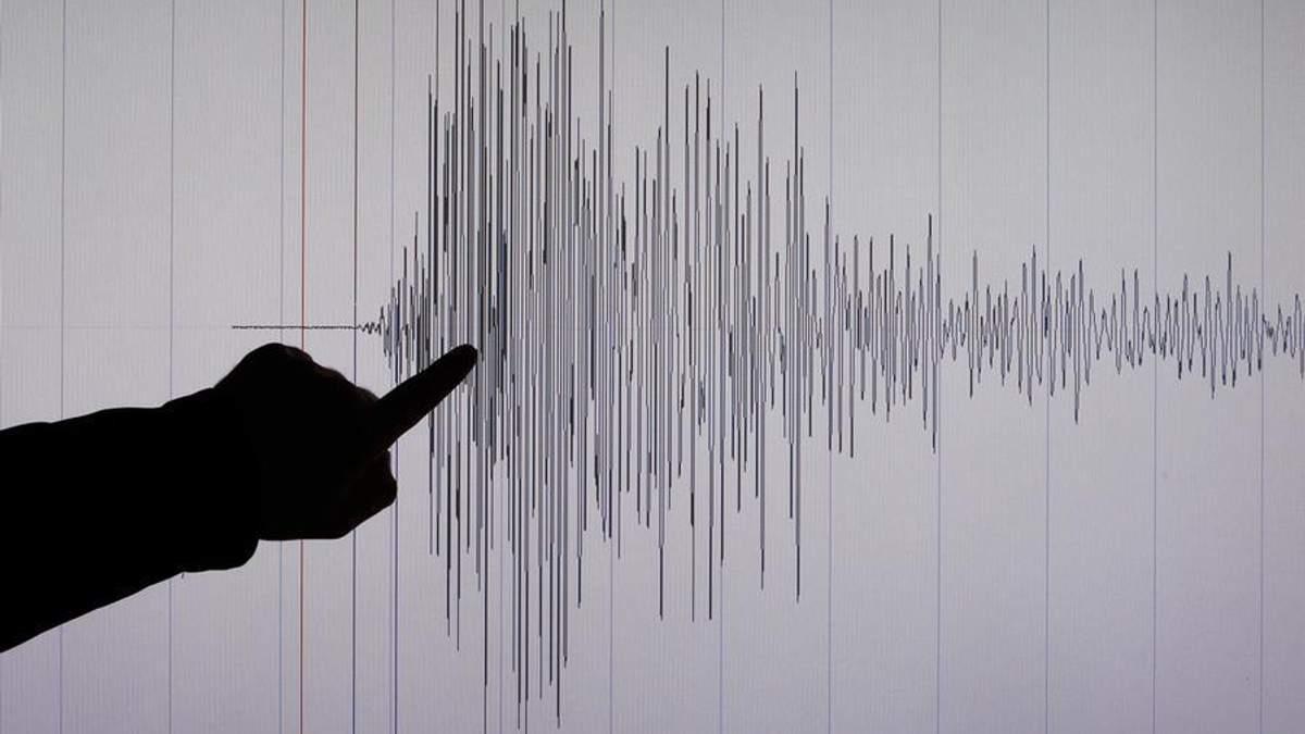 Землетрус у Тихому океані