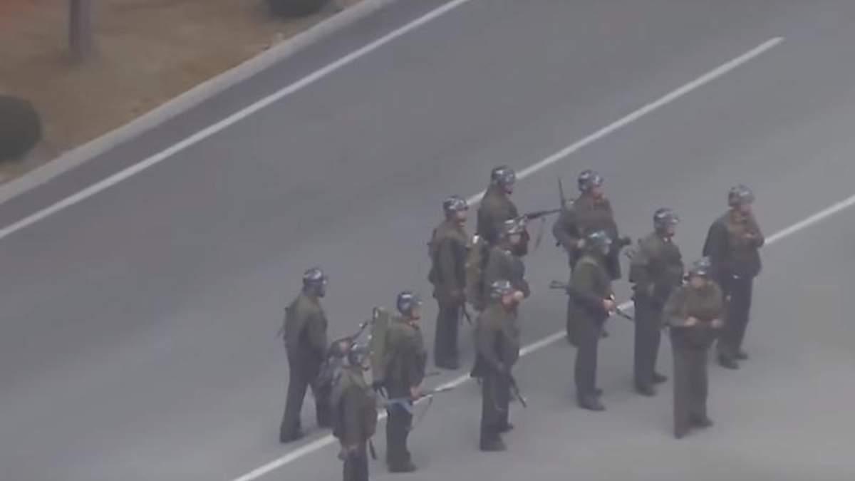 Появилось видео побега и преследования солдата КНДР в Южную Корею