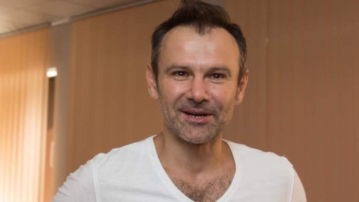 Святослав Вакарчук в тройке лидеров в президенты Украины