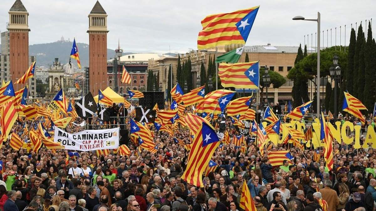 Іспанці проти незалежності Каталонії