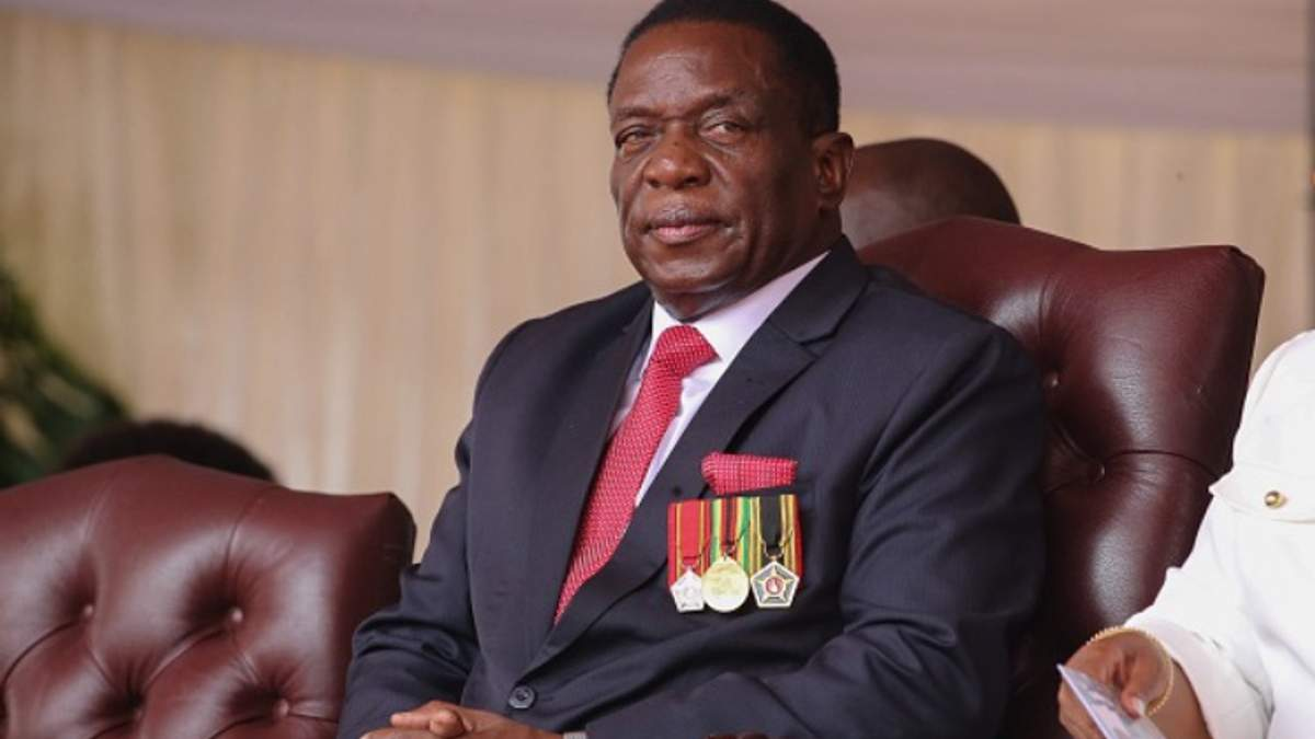 Эмерсон Мнангагва стал новым президентом Зимбабве