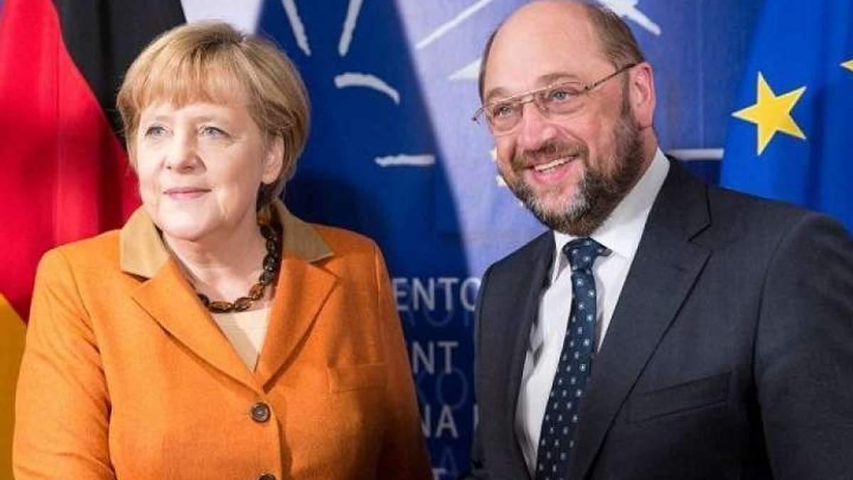 Большая коалиция Германии