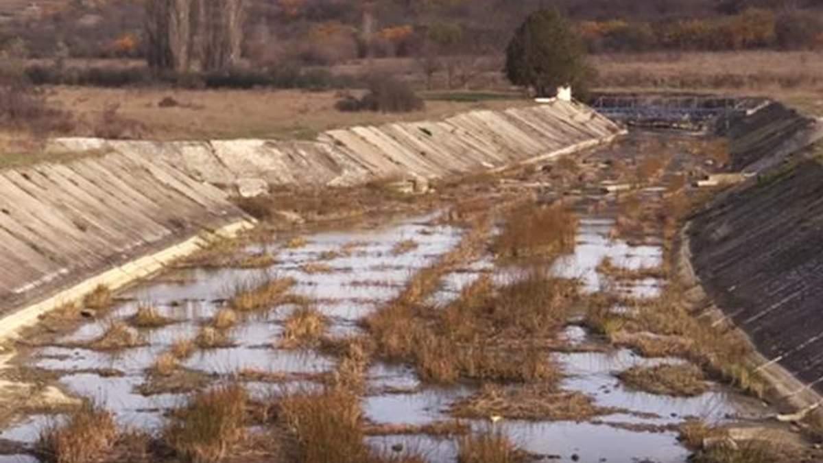 На Крым ждут проблемы с пресной водой из-за пересыхания Белогорского водохранилища