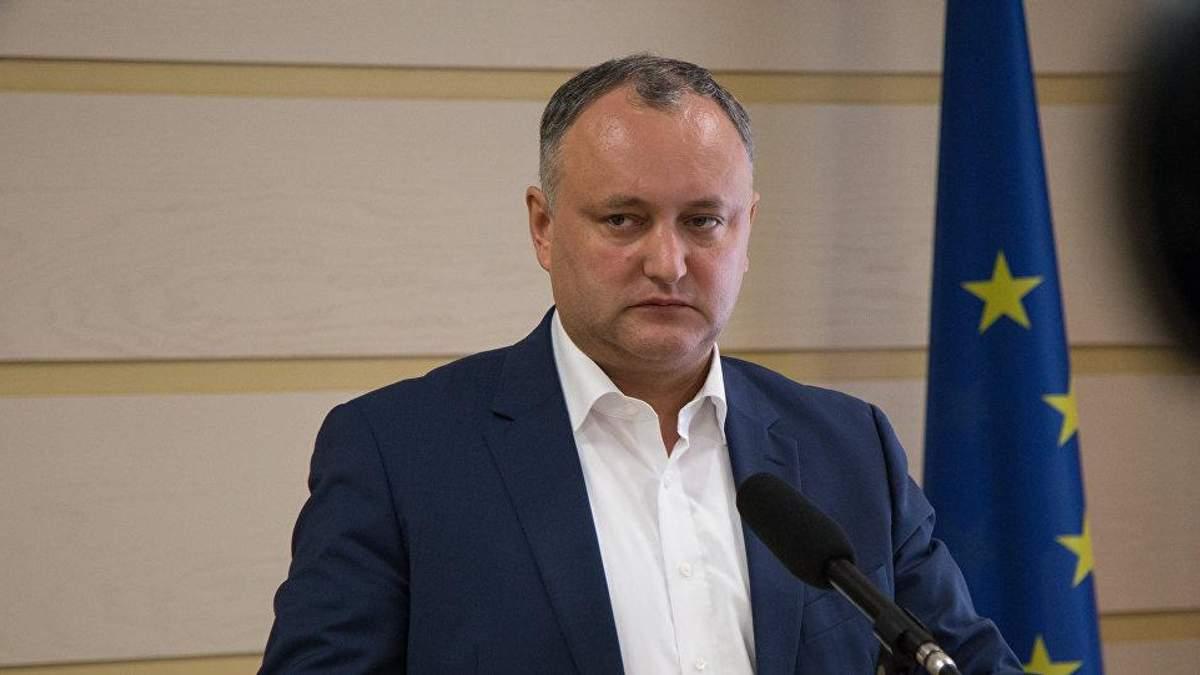 Президент Молдови озвучив гучну заяву про євроінтеграцію