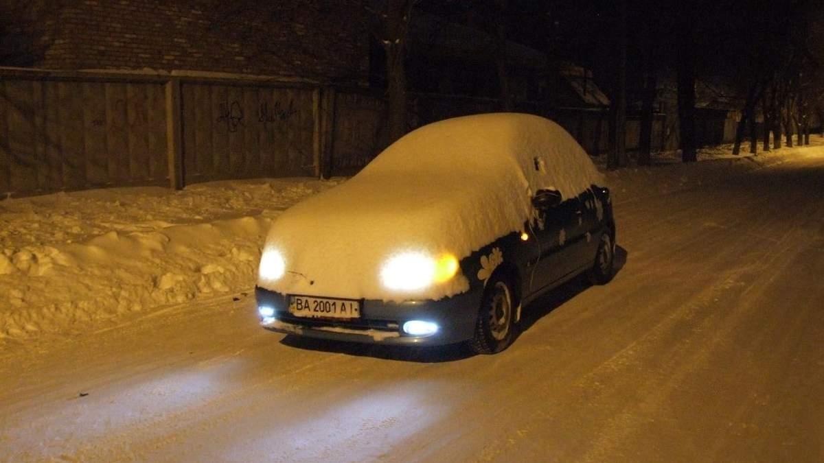 Підготовка автомобіля до зими