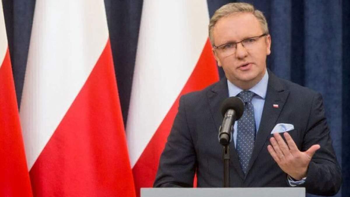 Керівник Кабінету президента Польщі Кшиштоф Щерський