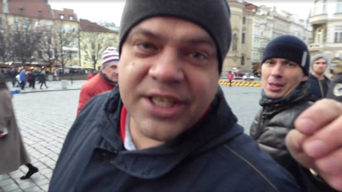 Група росіян атакувала проукраїнську акцію у Празі