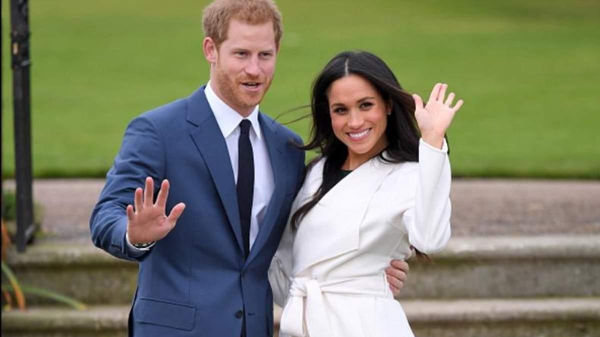 Принц Гаррі та Меган Маркл офіційно оголосили про заручини