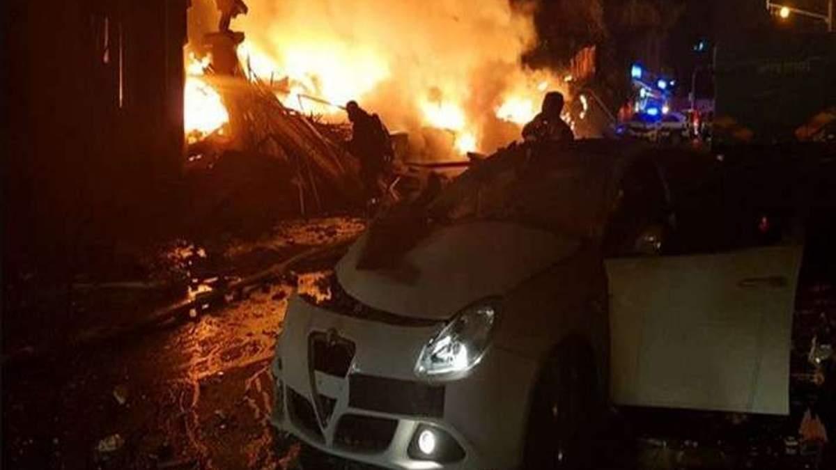 Взрыв в Тель-Авиве