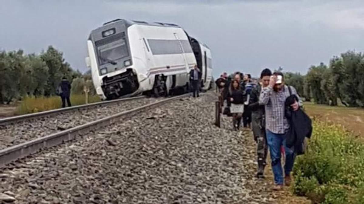 Залізнична аварія в Іспанії
