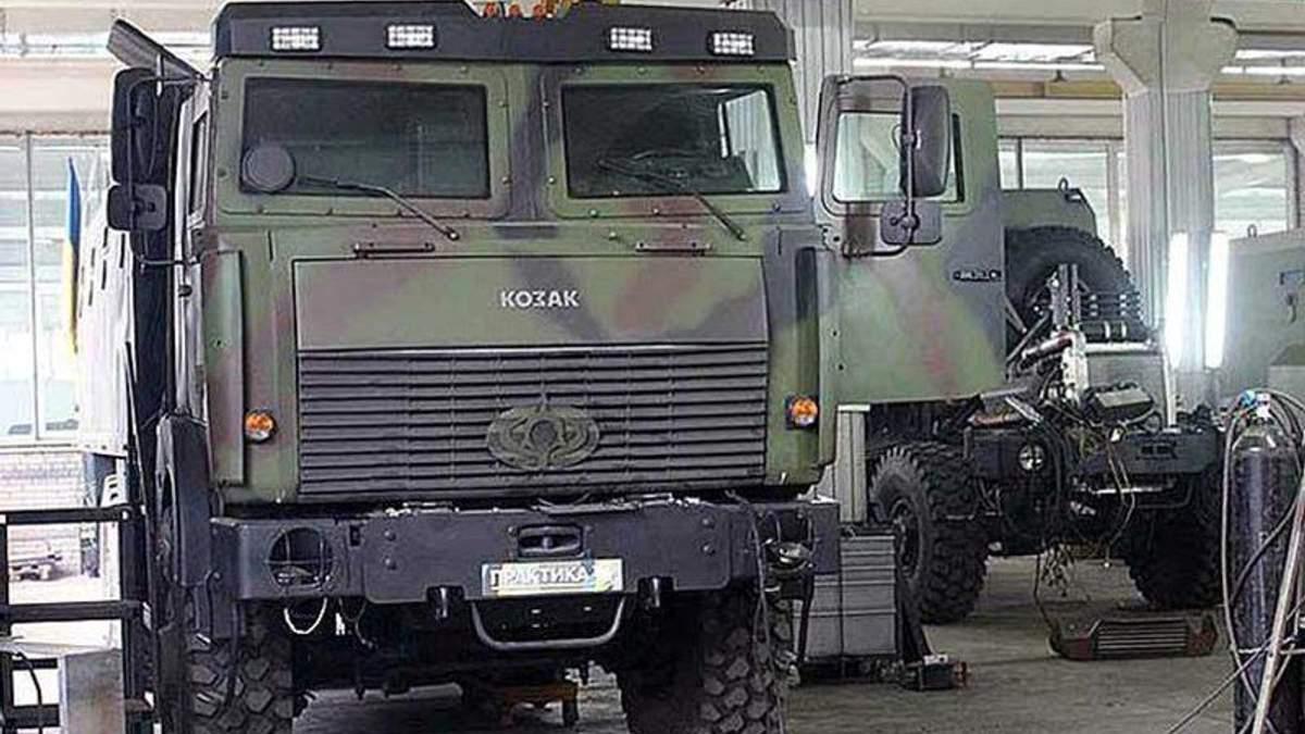 Вантажівка ЗСУ