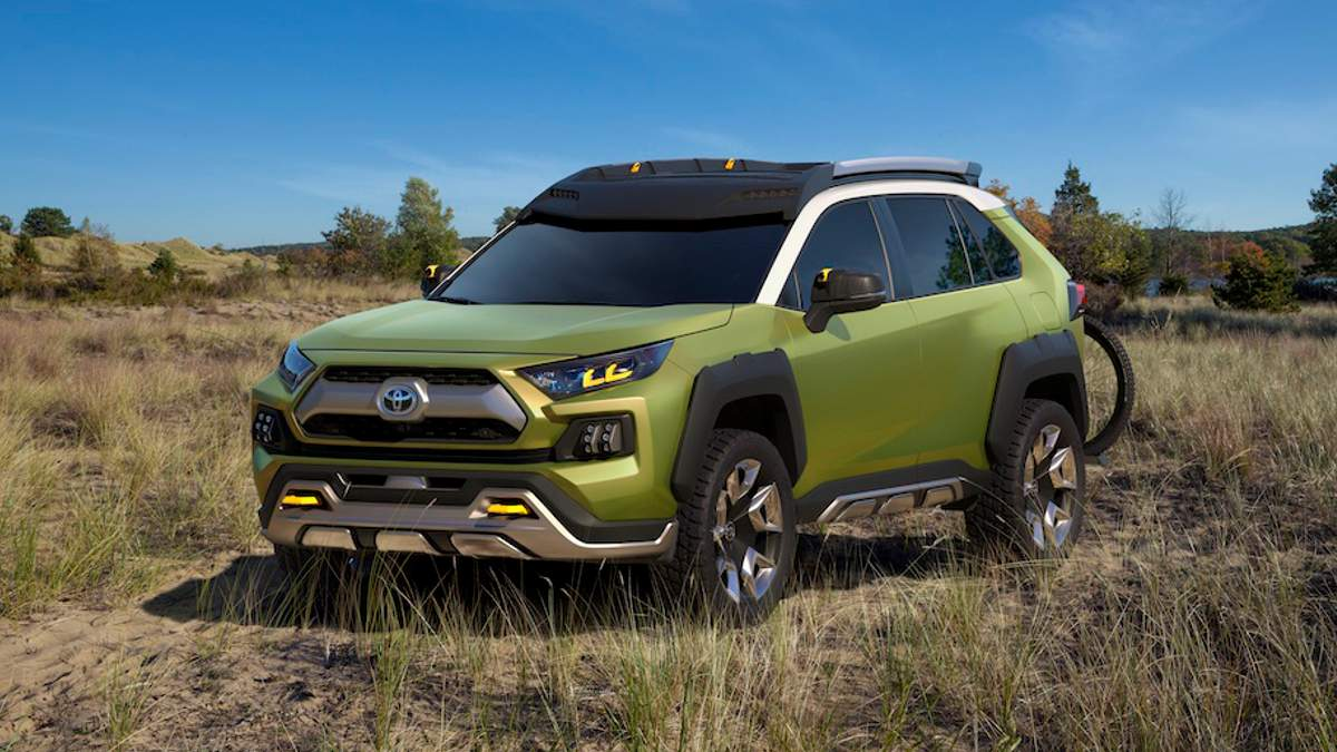 Future Toyota Adventure Concept