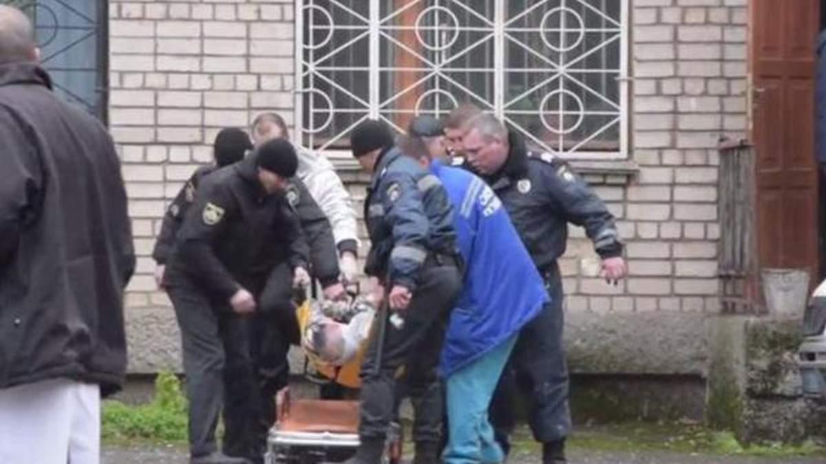 У поліції розповіли про стан потерпілих від вибуху в суді Нікополя
