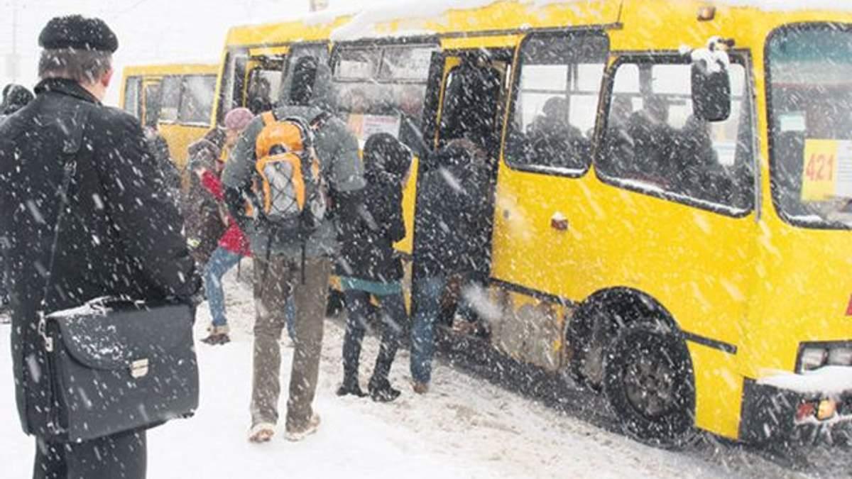 Работа транспорта на Новый год 2018 в Киеве