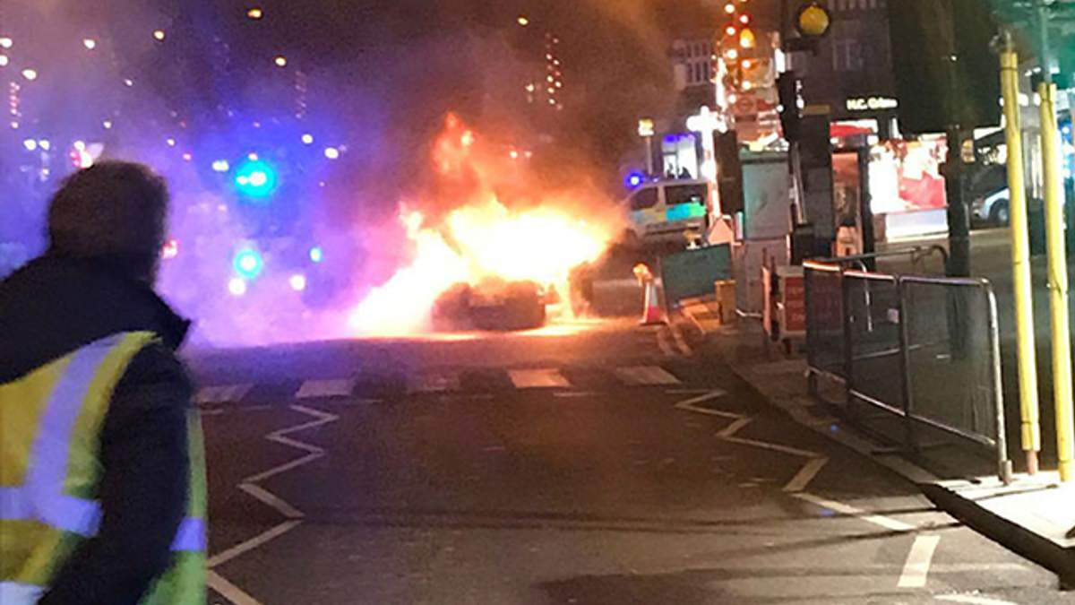 Взрыв в Лондоне 30 ноября